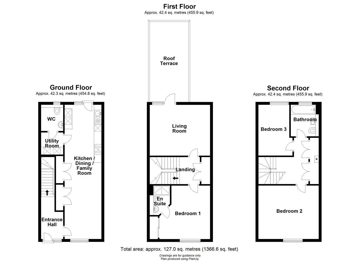 Floor plan Clay Farm Drive, Trumpington, Cambridge